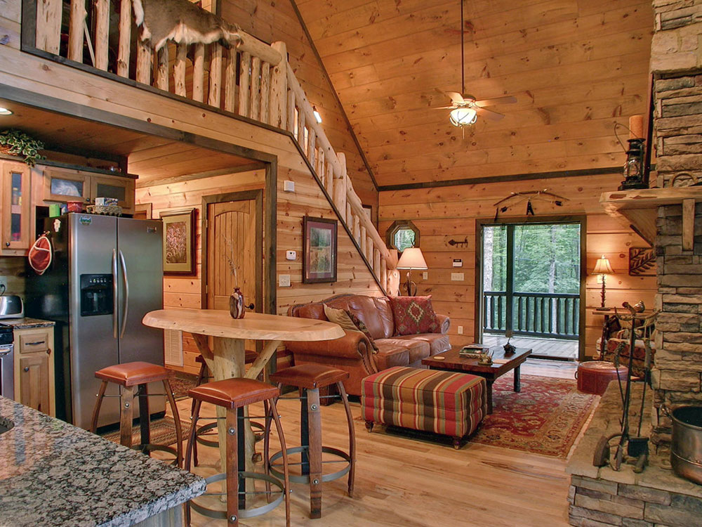 Cabin Design Ideas For Inspiration 3 Log Cabin Interior Design: