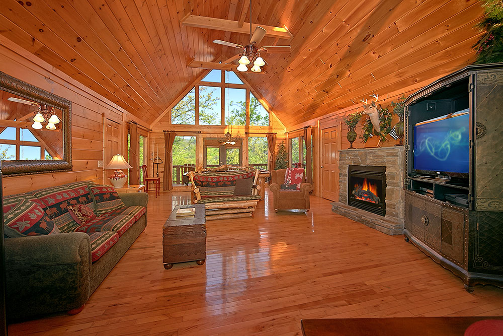 Cabin Design Ideas For Inspiration 5 Log Cabin Interior Design: