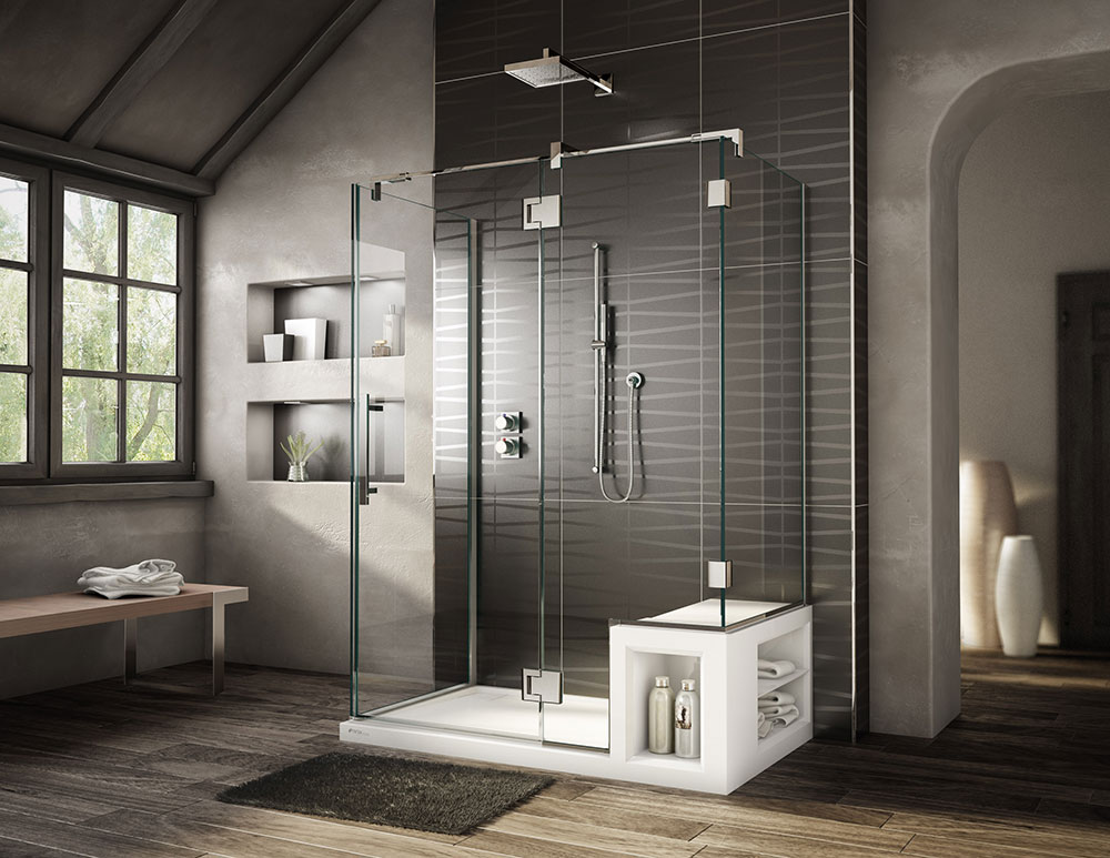 Best Shower Designs Decor Ideas 48 Pictures Custom Stall Bathroom Style