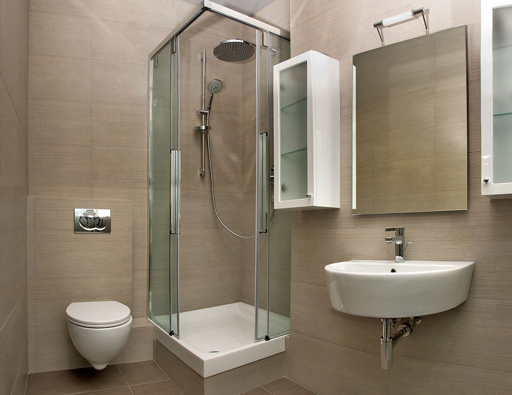 design for small bathroom with shower - home design ideas