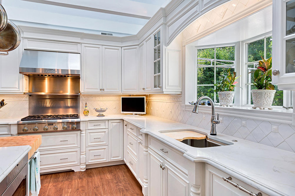 white kitchen design ideas to inspire you 20 white - White Kitchen Design Ideas