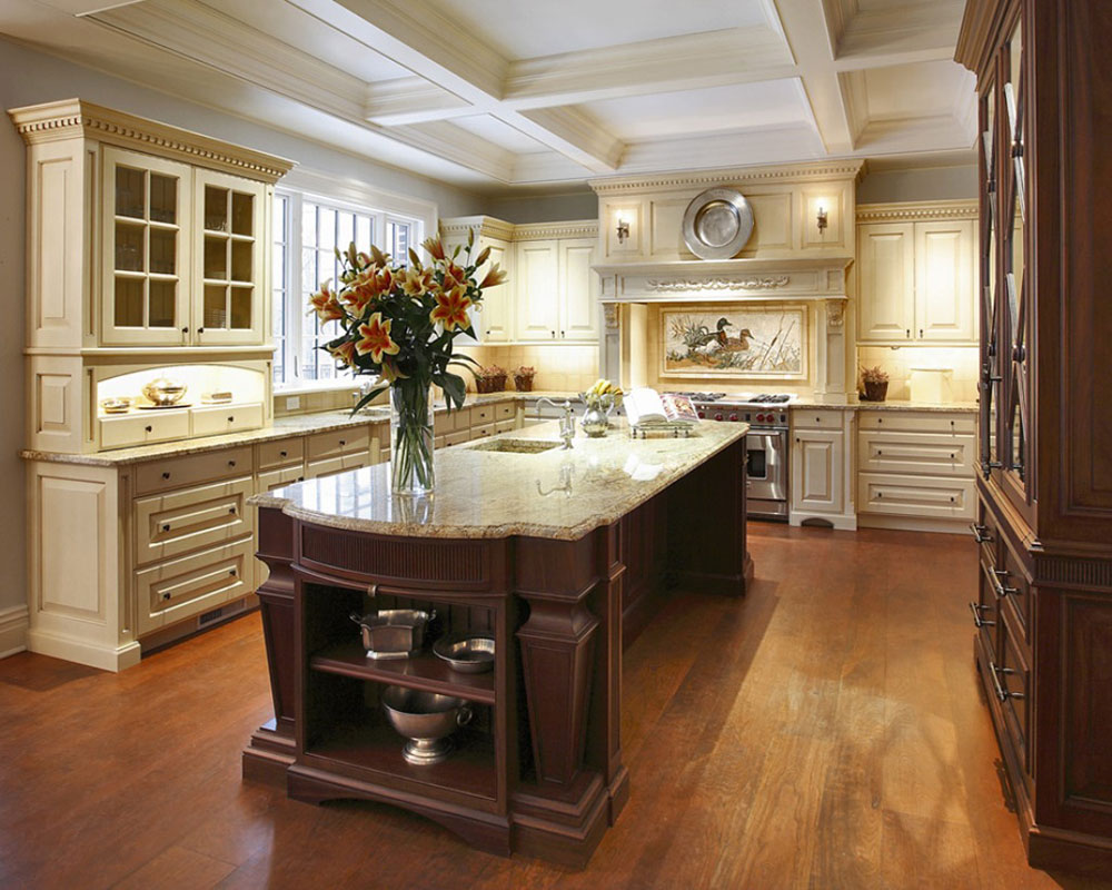 Luxurious Touch Applying A Modern Kitchen Cabinets Home Design