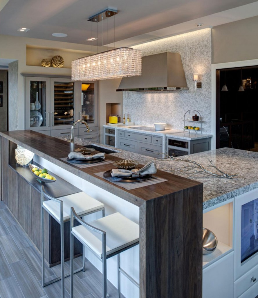 Kitchen Island Modern modern and traditional kitchen island ideas you should see