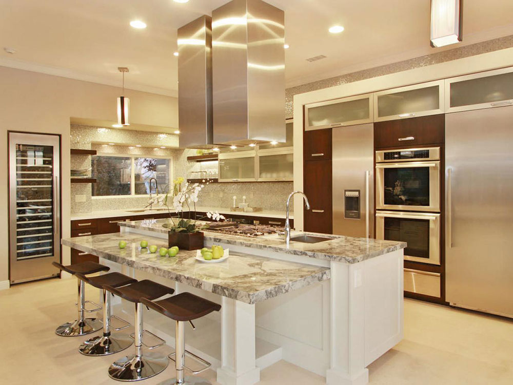 Modern And Traditional Kitchen Island Ideas You Should See on small kitchens with high ceilings, kitchen lighting with high ceilings, country kitchens with high ceilings,