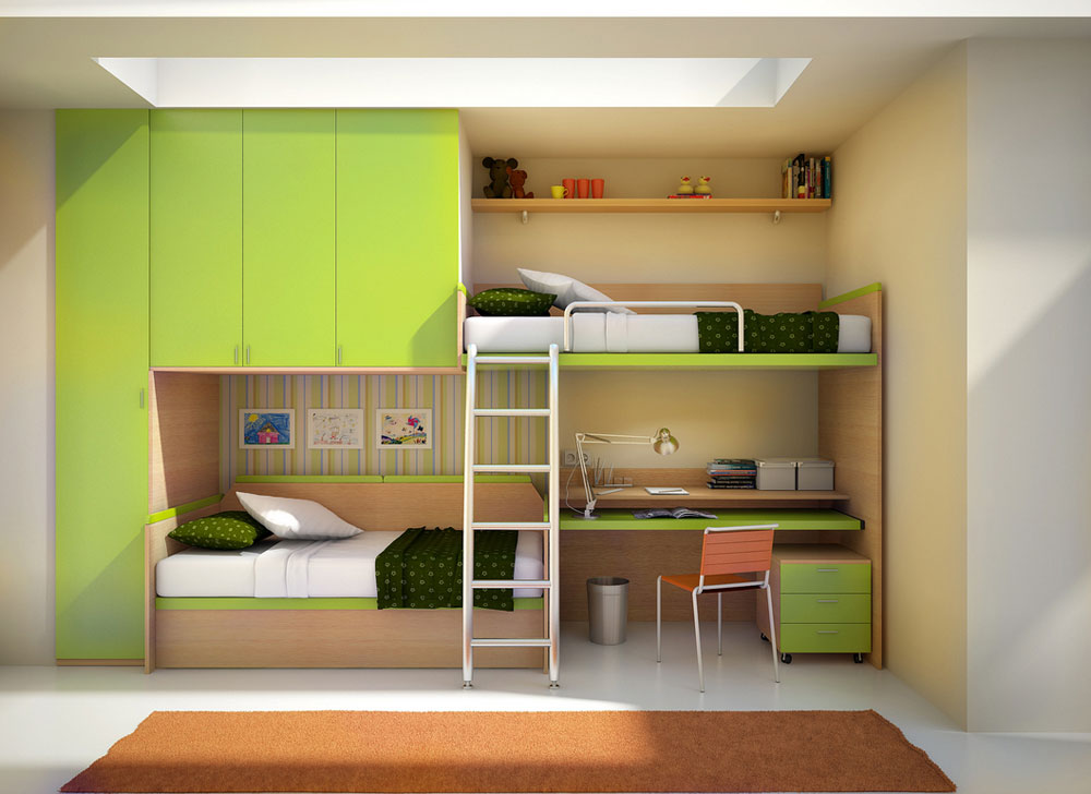 1 Bedroom Interior Design Ideas bunk beds design ideas for kids (58 best pictures)