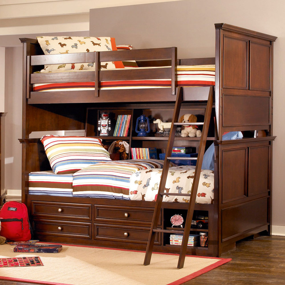 Space Saving Loft Bed Bunk Bed Ideas For Boys And Girls 58 Best Bunk Beds Designs