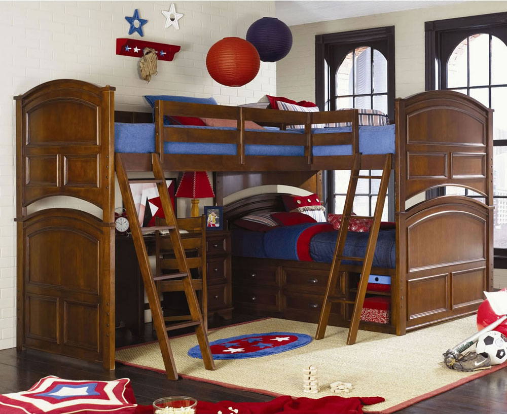 Bunk bed ideas for boys and girls 58 best bunk beds designs for Bedroom ideas 8 year old boy