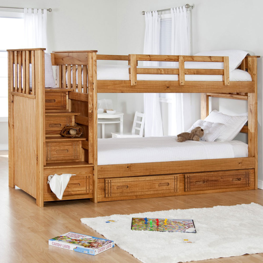 Bunk beds for kids with stairs - Bunk Beds Design Ideas 9