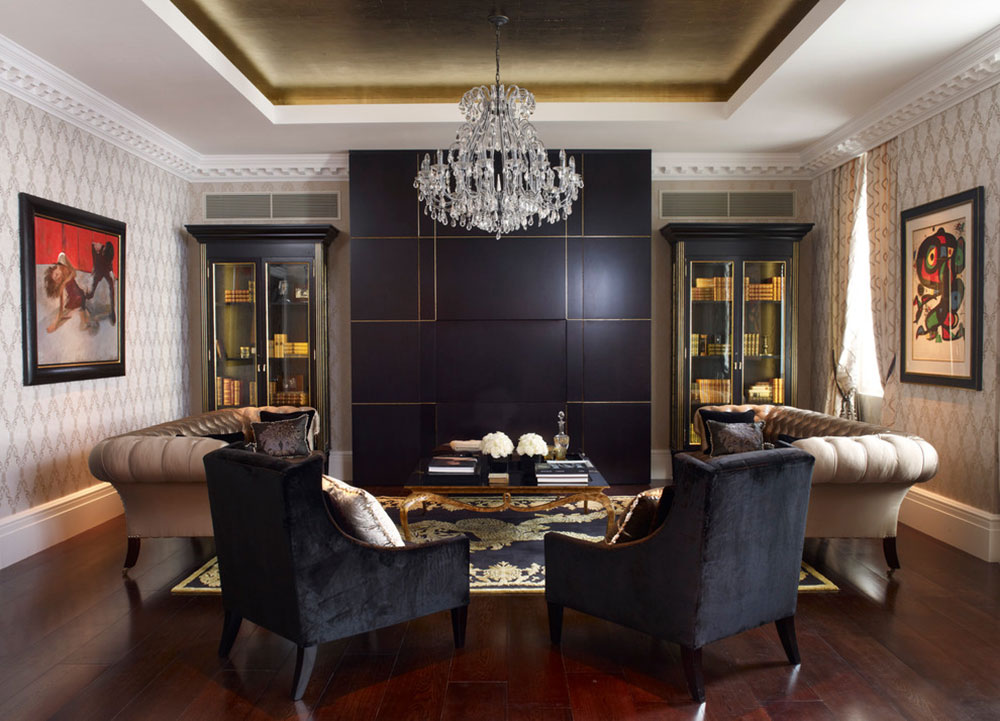 living room ceiling lights. Georgian Townhouse Living Area by Oliver Burns Modern And Vintage Examples Of Ceiling Lights To Inspire You