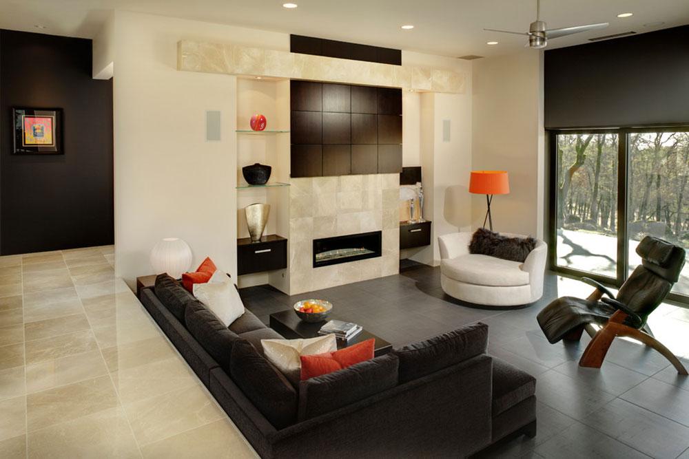 Best Sunken Living Room Designs (41 Conversation Pits)