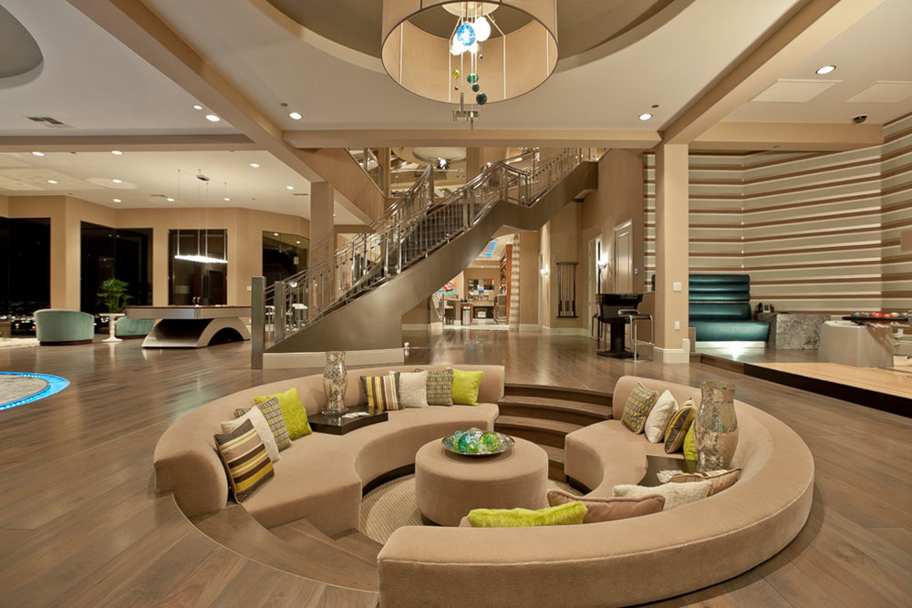 Best Sunken Living Room Designs (41 Conversation Pits)