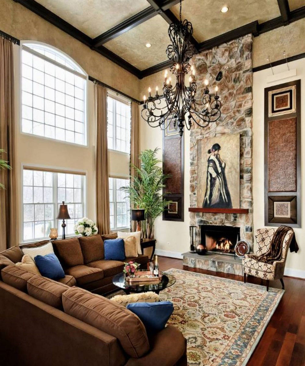 High-Ceiling-Rooms-And-Decorating-Ideas-For-Them- : living rooms ideas decorations - www.pureclipart.com