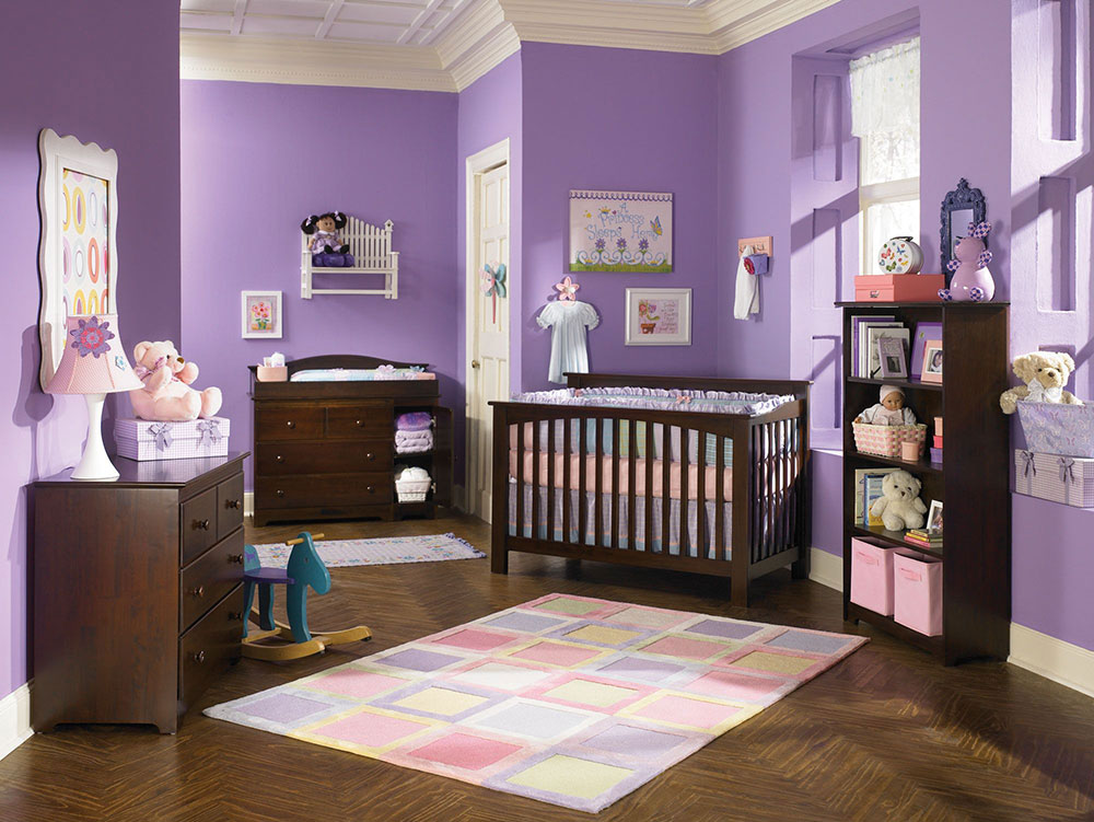 Vintage The Usage Of Purple In Interior Design