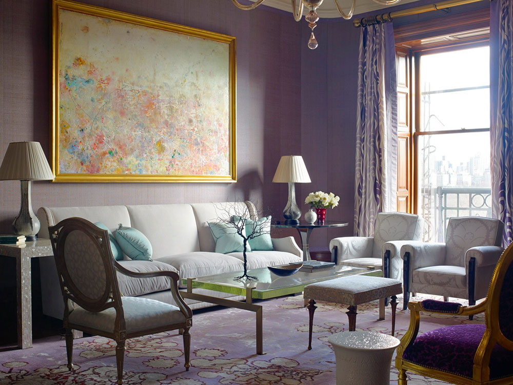 The Usage Of Purple In Interior Design 3 Best