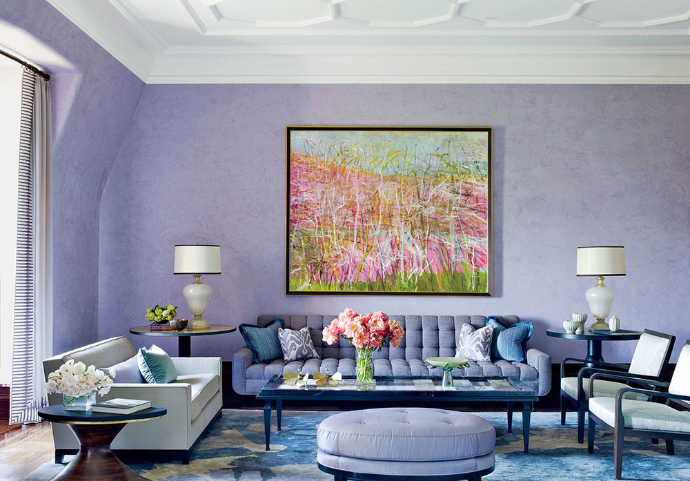 The Usage Of Purple In Interior Design 5