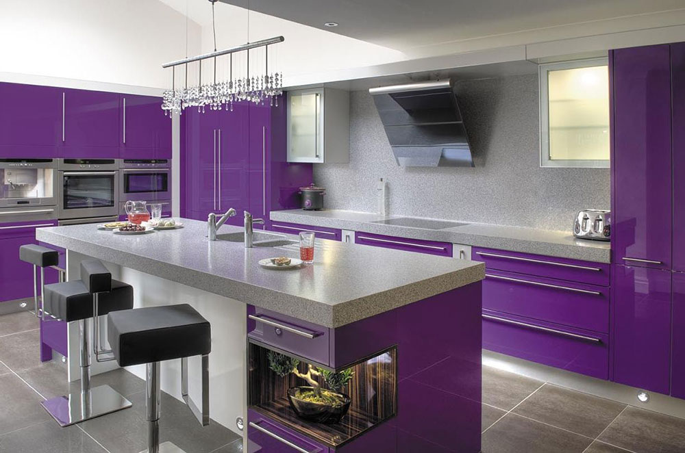 Kitchen Ideas Purple best purple decor & interior design ideas (56 pictures)