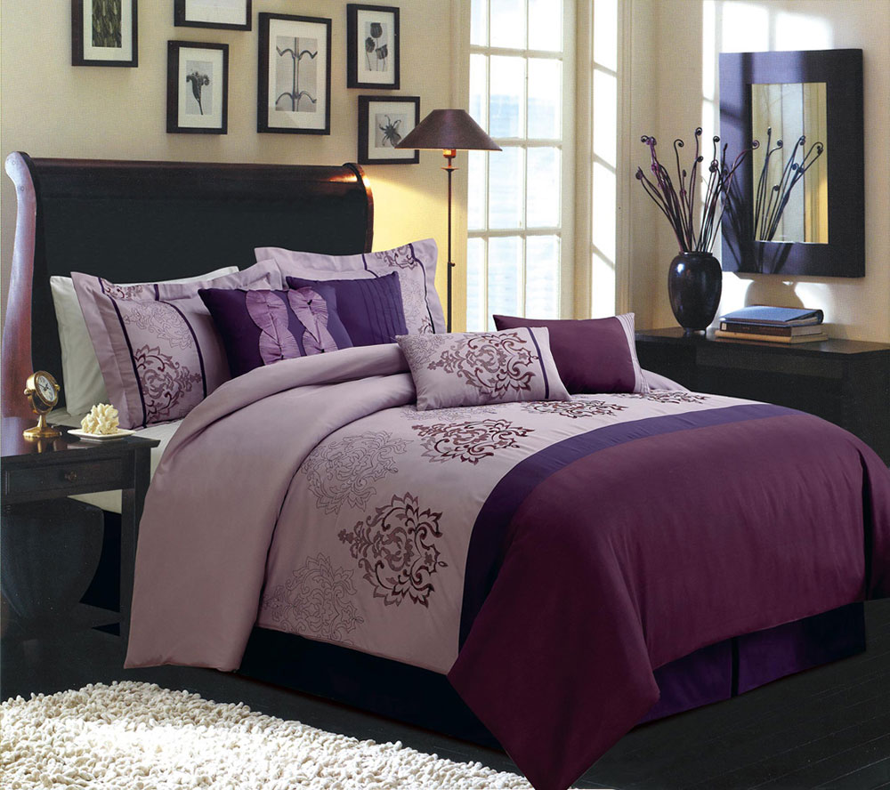 Black and purple bedroom - The Usage Of Purple In Interior Design 8 Best