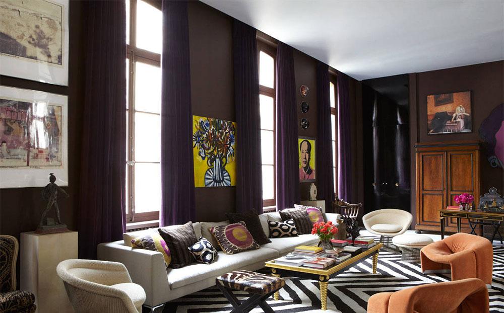 The Usage Of Purple In Interior Design Best Purple Decor