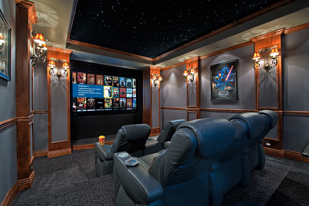 Theater Room Design a showcase of really cool theater room designs