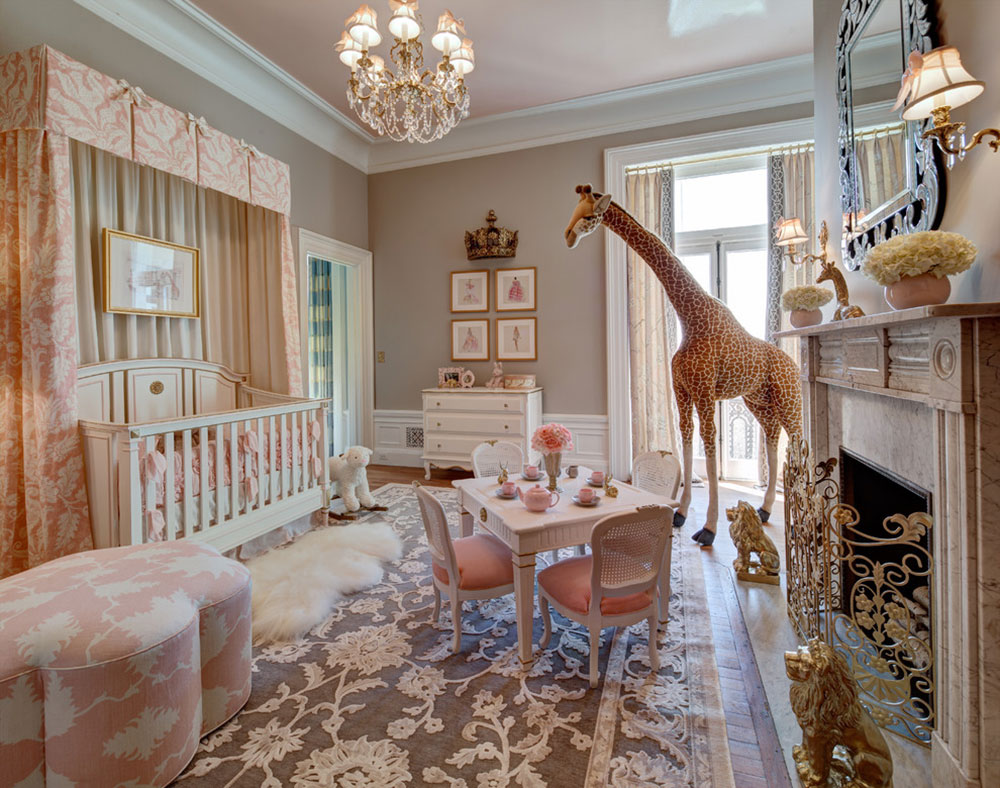 Elegant Your Little Kids Room Baby Nursery Interior Design