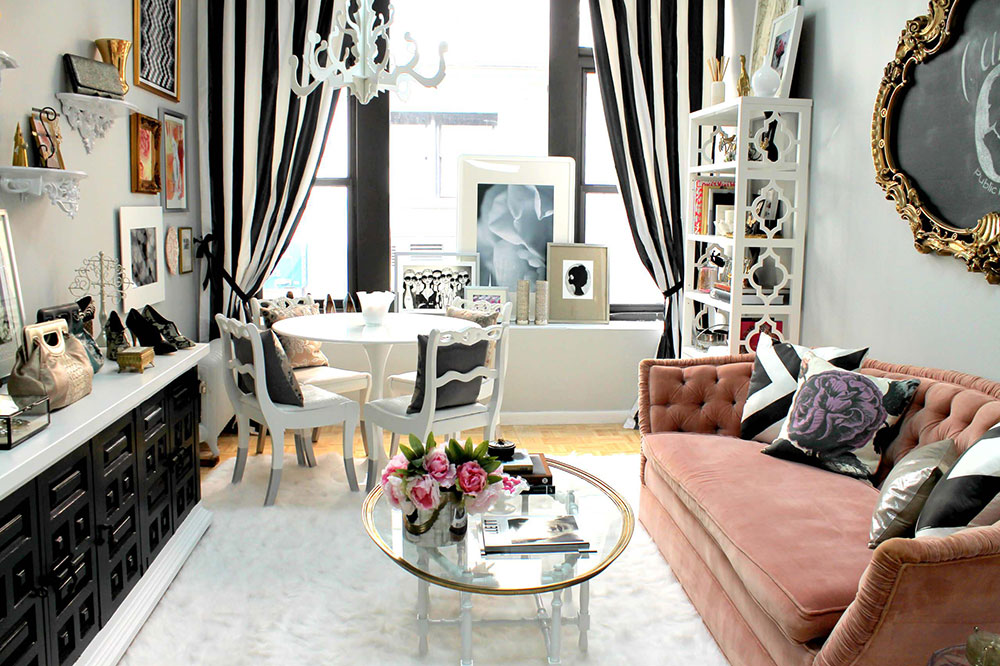 Eclectic Living Room Ideas And Inspiration For Organizing Small Living Rooms