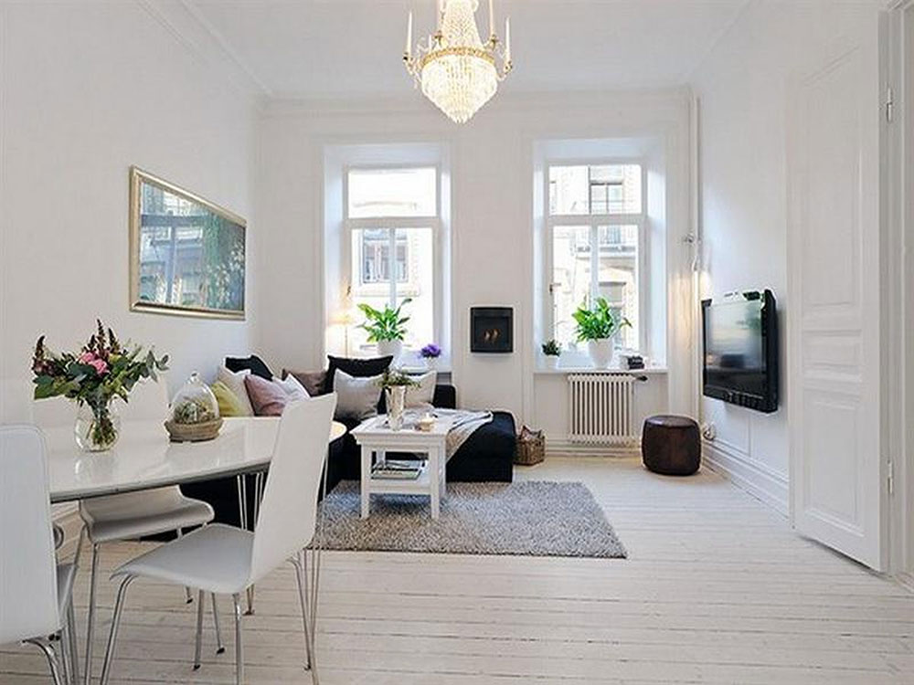 Beautiful examples of scandinavian interior design for Scandinavian interior