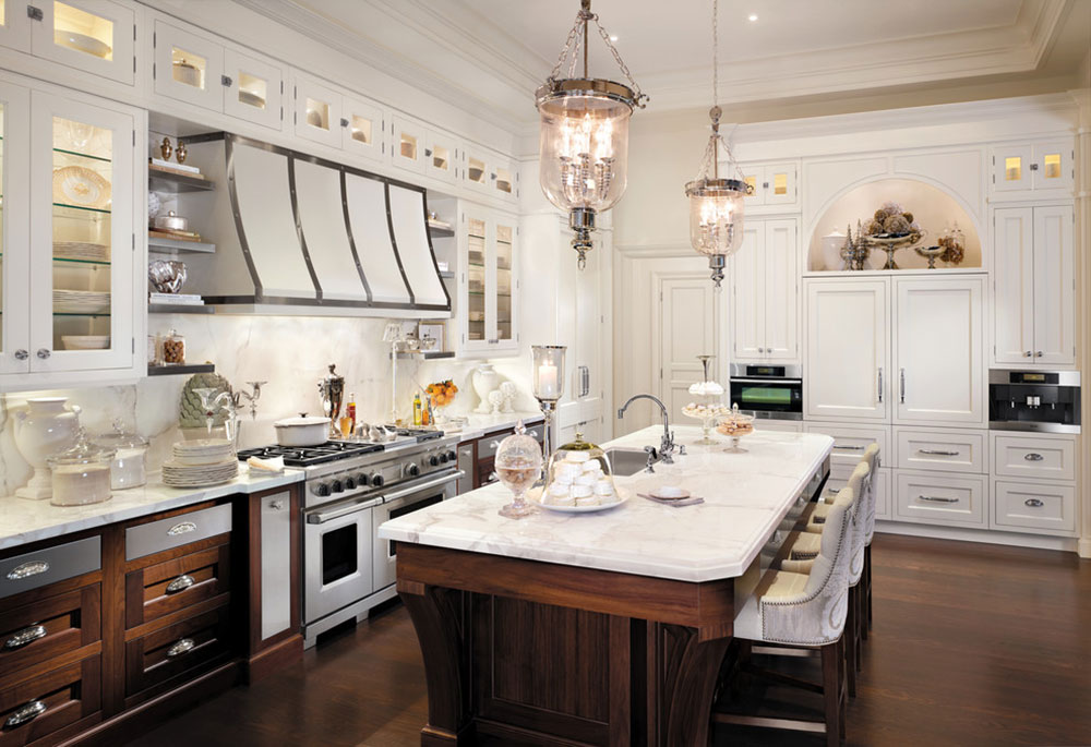 Showcase Of Beautiful And Overwhelming Large Luxury Kitchens1 Large