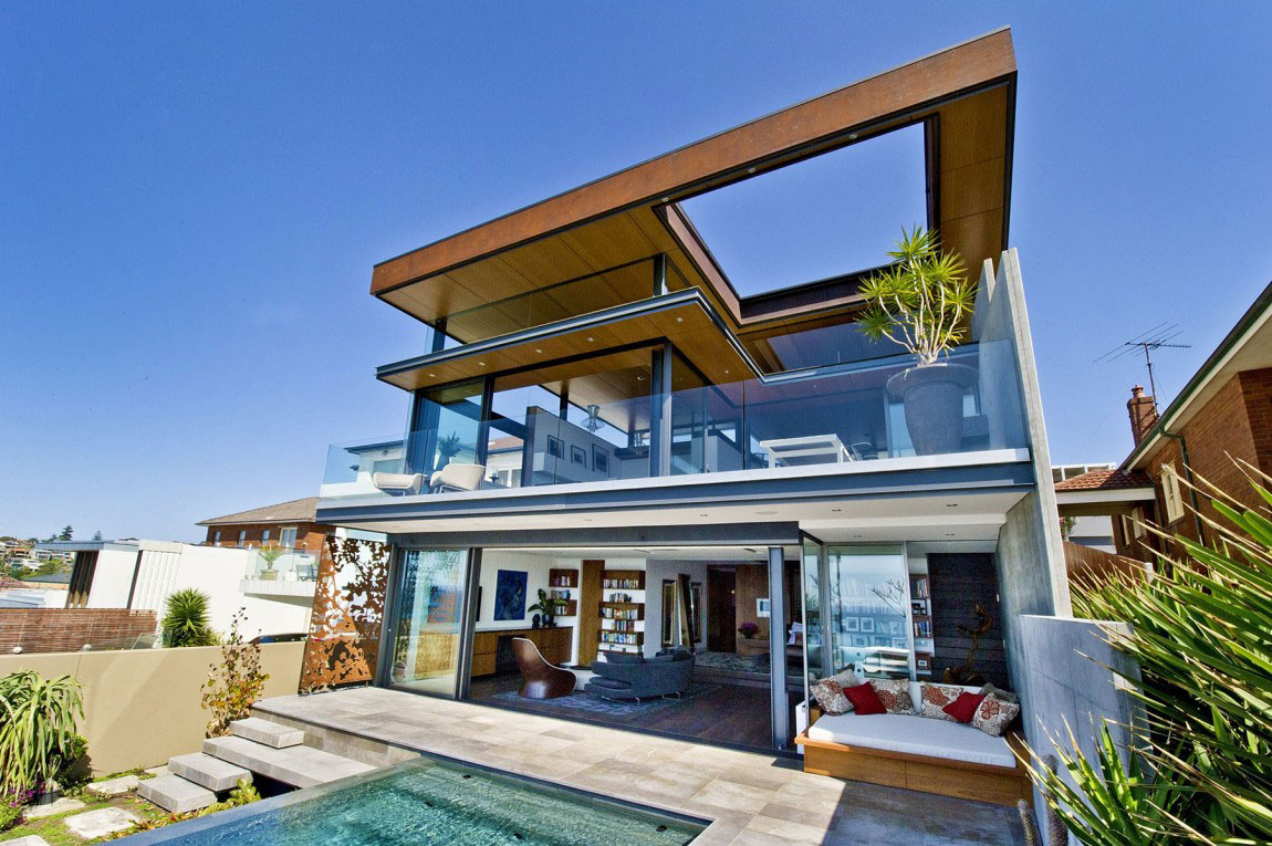 Bronte-House-by-Rolf-Ockert-Design Showcase Of House Architecture Design