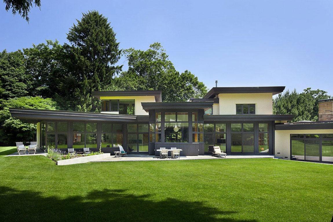 Eco friendly house with a contemporary design 1 eco