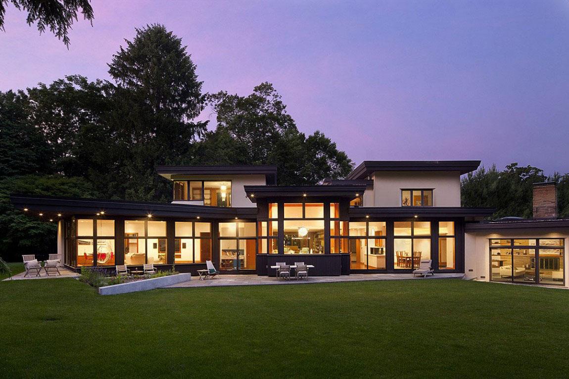 Eco Friendly House With A Contemporary Design 13 Eco