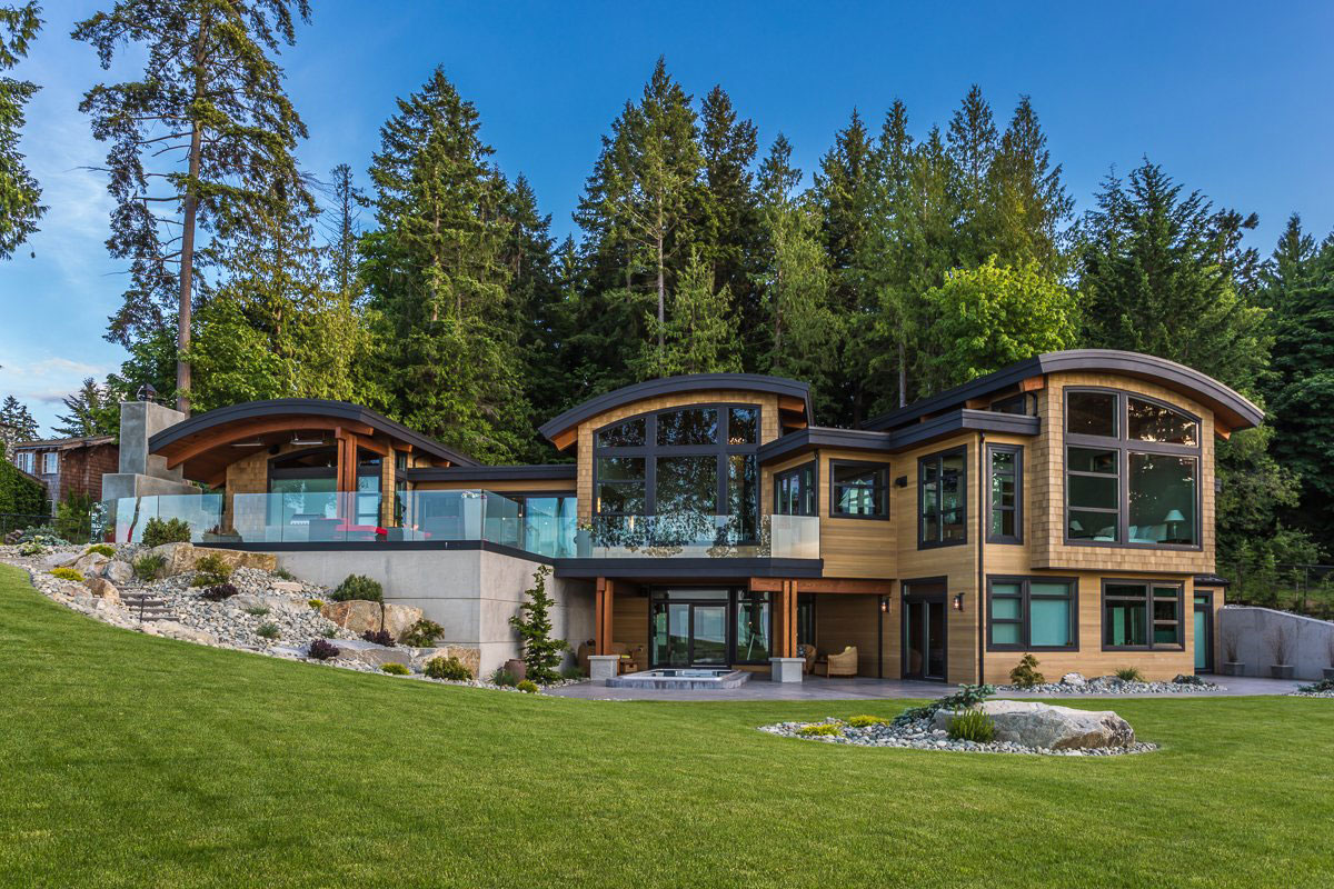 House With Elegant And Unique Design Created By Keith Baker Design