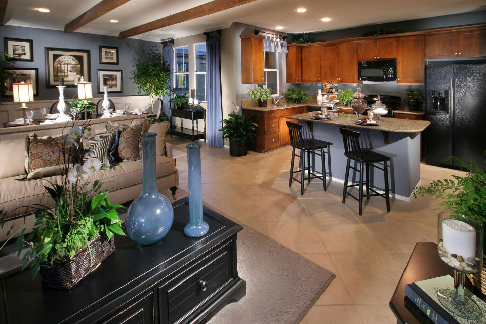 kitchen living rooms living and dining room interior design examples to check out - Kitchen And Living Room Design Ideas