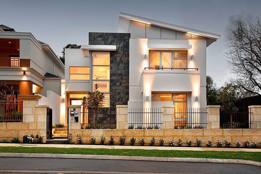 Two-Story-Home-WIth-A-Modern-1 Two Story Home