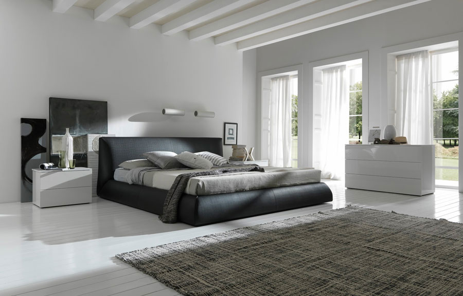 Grey Bedroom Interior Design 12