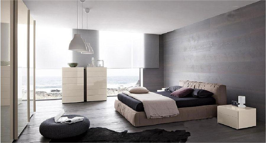 Grey-Bedroom-Interior-Design-9 Grey Bedroom Interior Design That Looks Quite