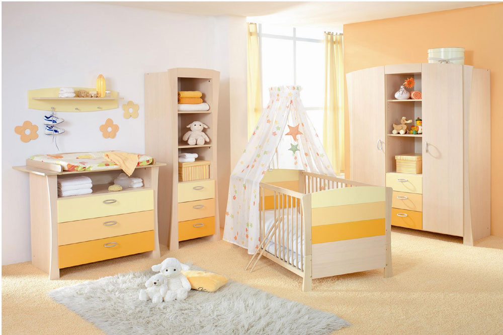 Baby Room Design Ideas Part - 36: Baby-Room-Design-Ideas-For-Girls-1 Baby Room Design