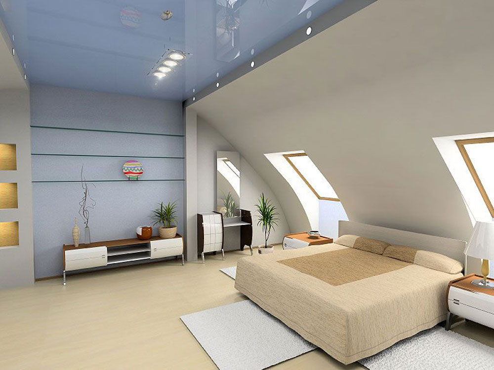 Charmant Lovely Interior Design For Attic Bedrooms 1 Breathtaking Attic Master
