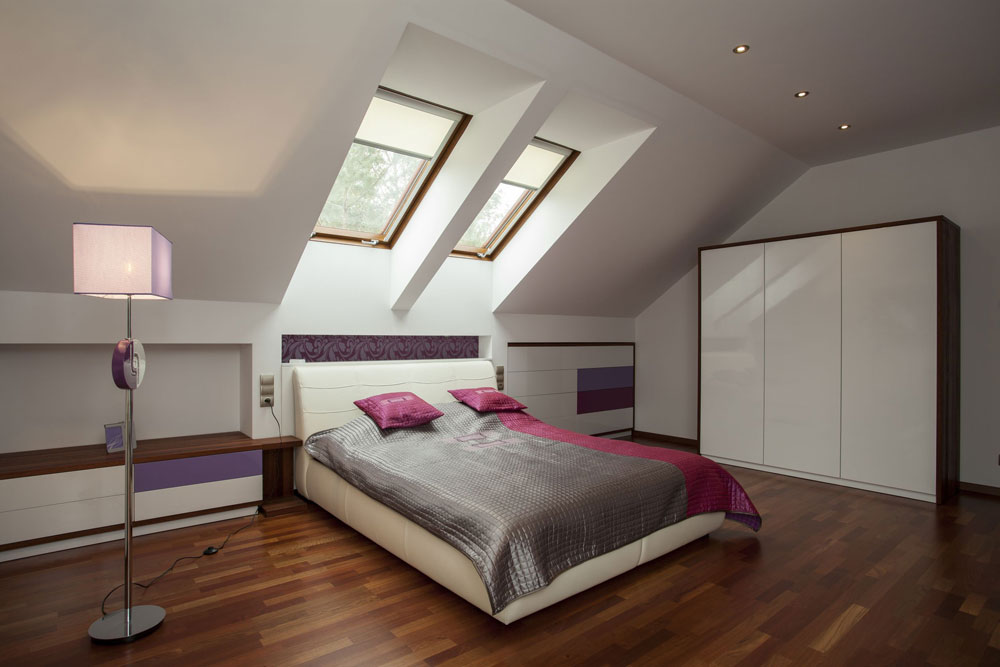 Elegant Lovely Interior Design For Attic Bedrooms 2 Breathtaking Attic Master