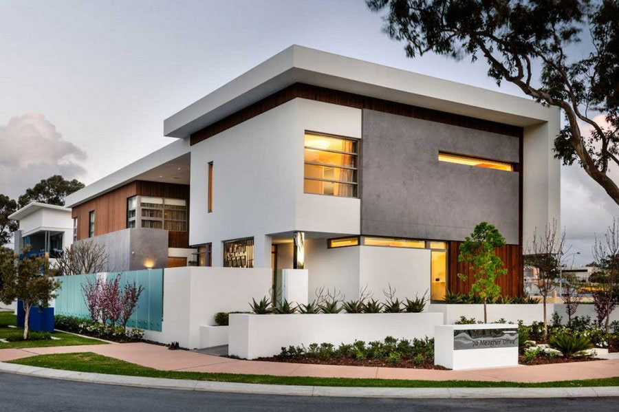 Modern Home With A Fresh Interior Design And