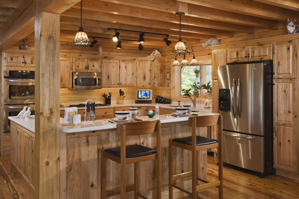 Etonnant Showcase Of Impressive Wooden Kitchen Interior Design 17 Showcase