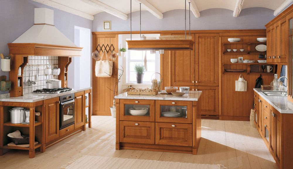 Amazing Showcase Of Impressive Wooden Kitchen Interior Design 18 Showcase