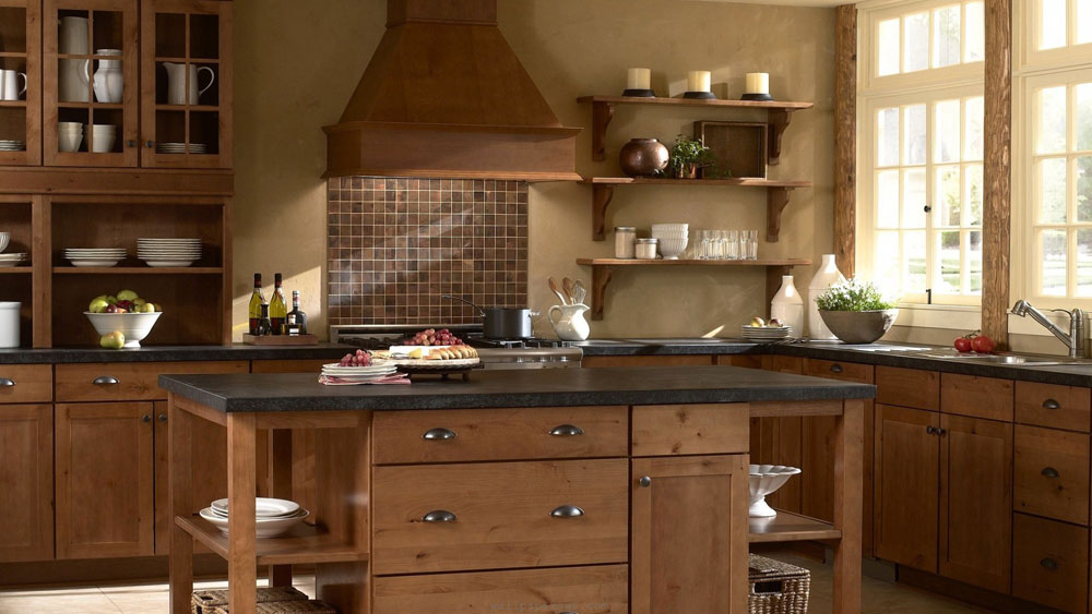 Showcase Of Impressive Wooden Kitchen Interior Design 5