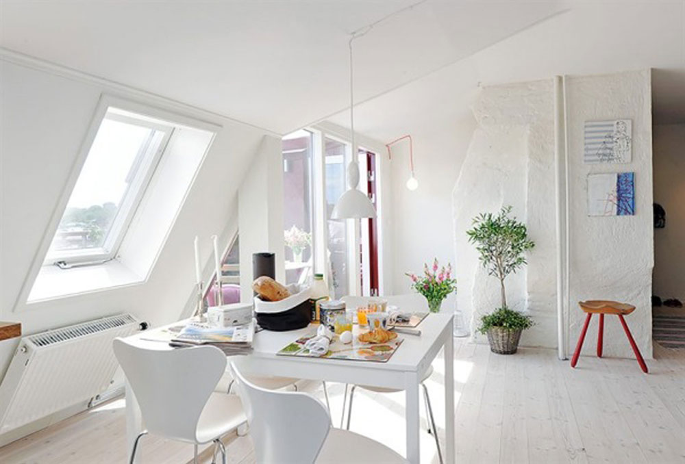 White Apartment Interior Design Showcase