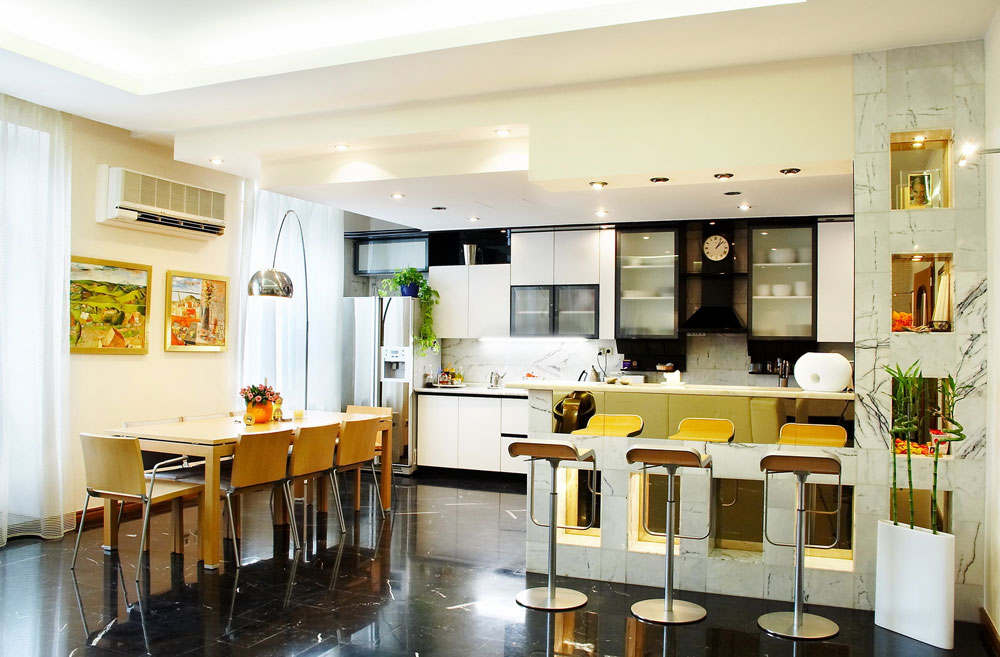 Elegant Likeable Kitchen And Dining Room Combinations 12 Likeable Kitchen And