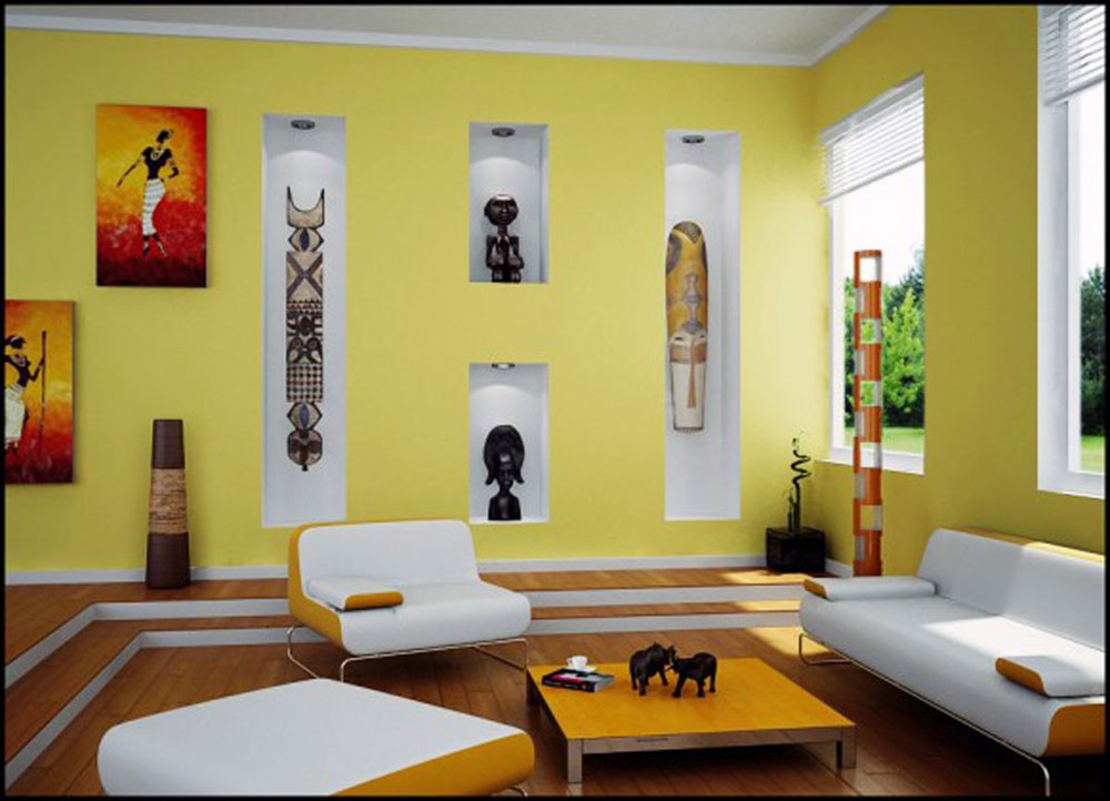 Want To Decorate Light Yellow Living Room Walls And Don\'t Know How ...