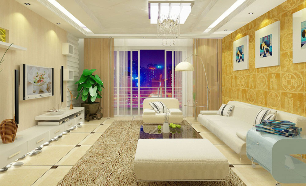 want to decorate light yellow living room walls and don't