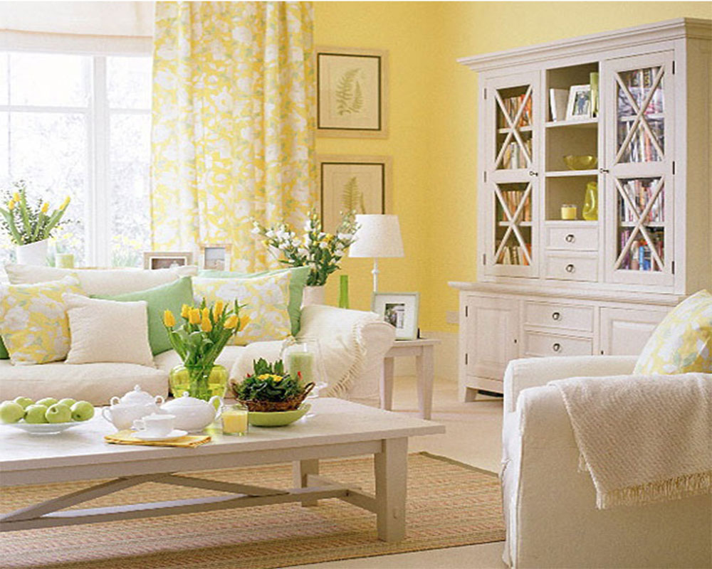 Living Room Ideas Yellow Walls living room yellow - creditrestore
