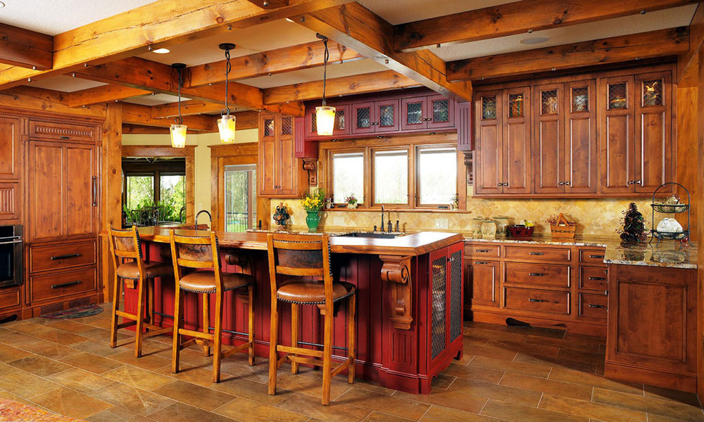 Cozy Rustic Kitchen Cool Warm Cozy And Inviting Rustic Kitchen Interiors Decorating  Inspiration