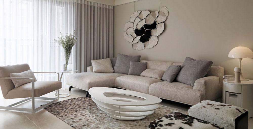 Living Room Furniture For Beige Walls - Bedroom Design