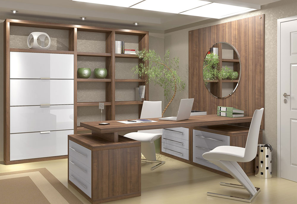 great home office design ideas for the work - Office Design Ideas For Work